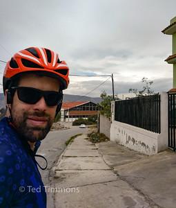 Selfie at the equator.