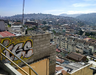 Views from the side of El Panecillo.