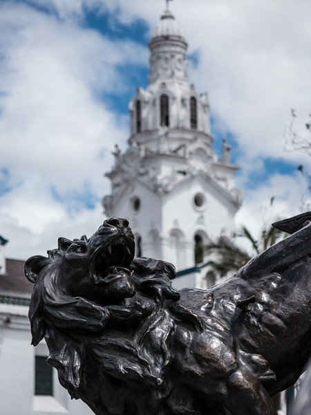Independance Monument, Plaza Grande, Quito
