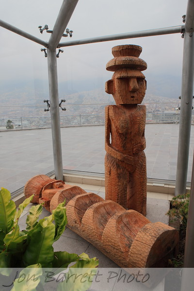 Wooden carvings - Crystal Palace, Ichimbia