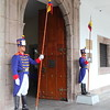 Guards at the Presidential Palace, Quito
