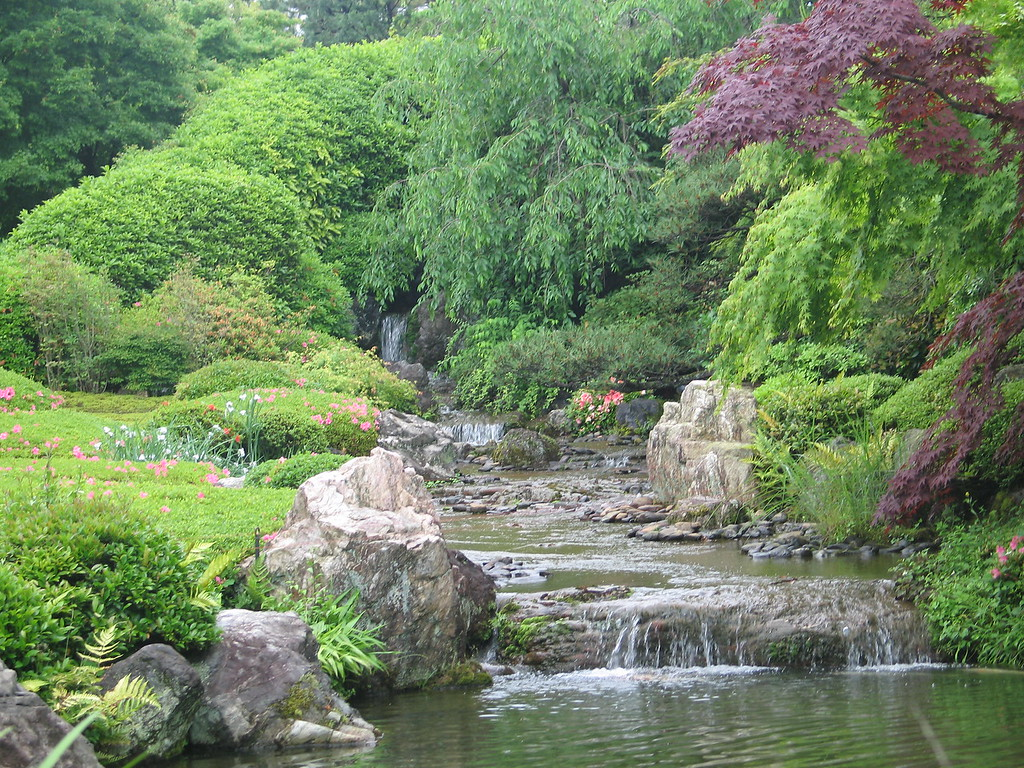 Garden in a sub-temple of one of the large Zen temples in Kyoto.