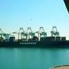 Busy San Pedro port