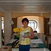 Nice flowers from a Sister in our cabin on the 7th deck, mid ship