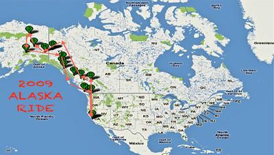 2009 ALASKA RIDE-THE iMOVIE