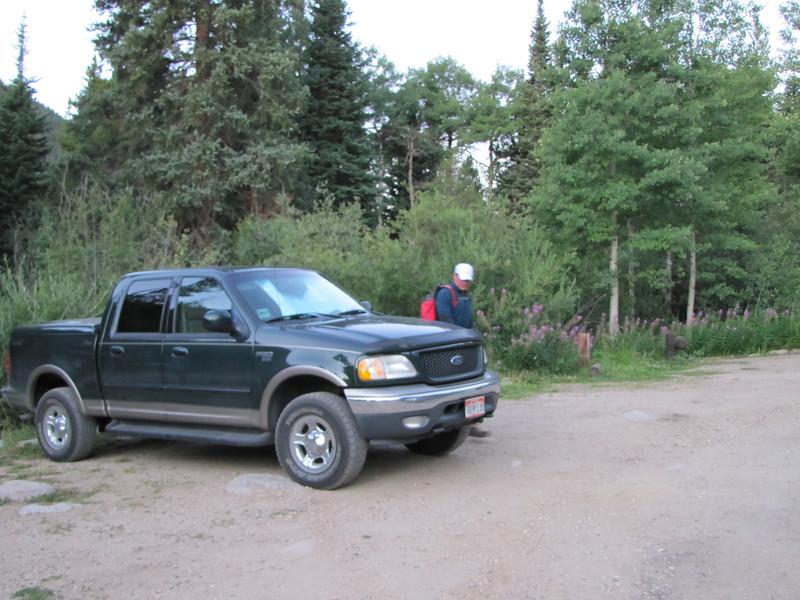 Kurt and his truck.