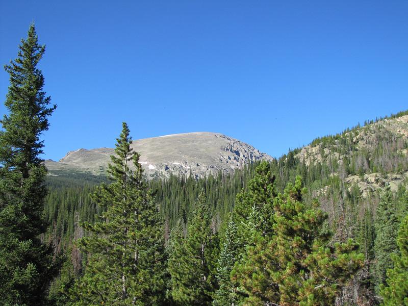 Mount Copeland from Thunder Lake Trail.