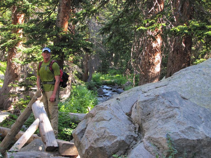 Kurt Hansen, North St. Vrain Creek, Thunder Lake Trail.