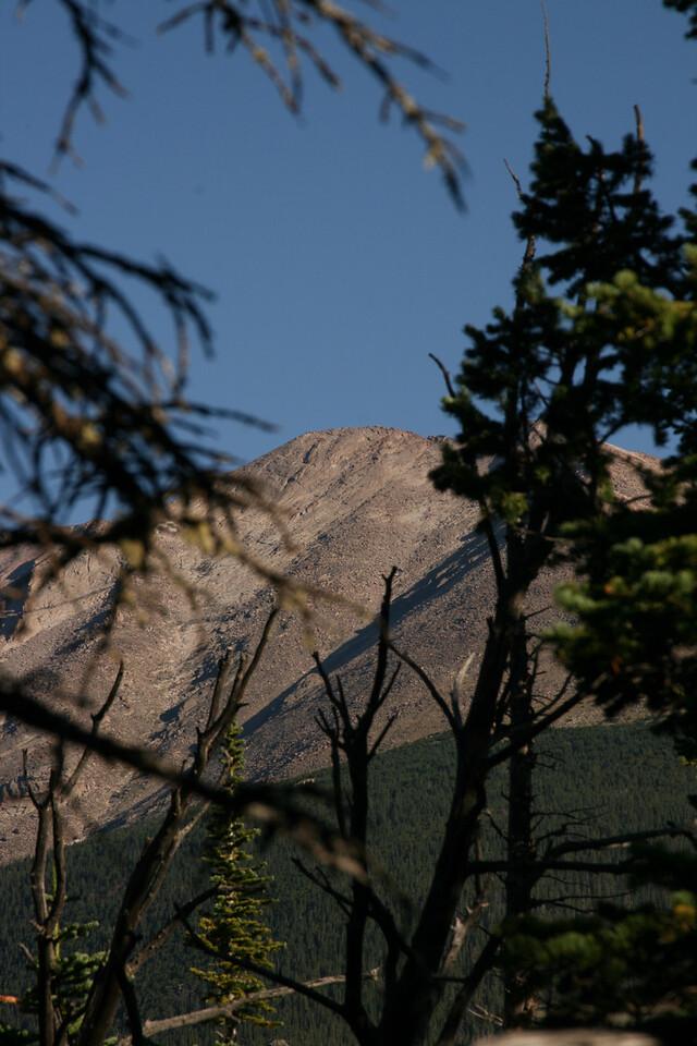Mount Meeker zoomed in