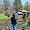Avery, is retired from insurance. He drives up from NC to photograph Mabry Mill.