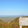 BUENA VISTA 1500 FT. BELOW<br /> ELEV. HERE 2325