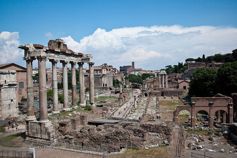 FORUM-ARCH OF SEPTIMIUS SEVERUS