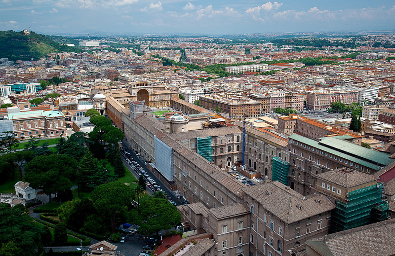 FIRST VIEW OF ROME FROM THE CUPOLA