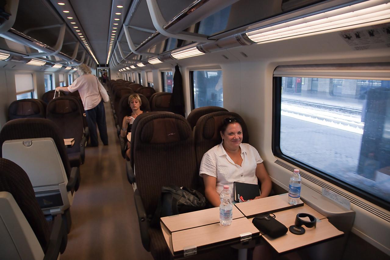 EUROSTAR TRAIN TO ROME