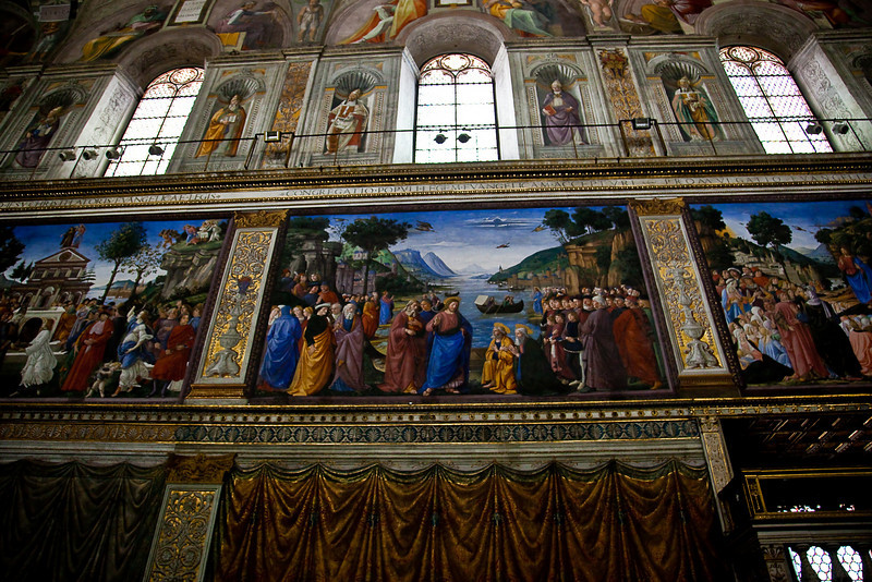 SIDE OF SISTINE CHAPEL