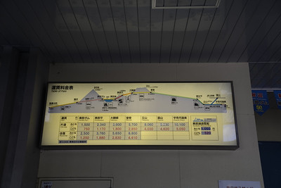The Tateyama-Kurobe Alpine Route.