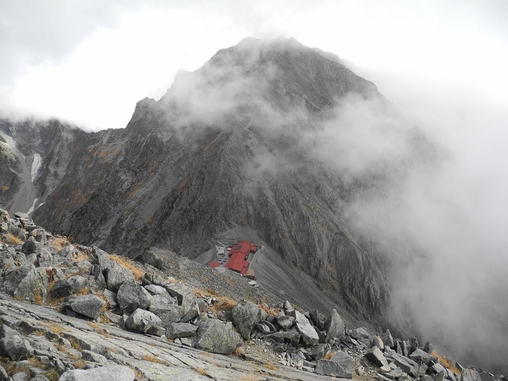 Hotaka Sanso mountain hut.