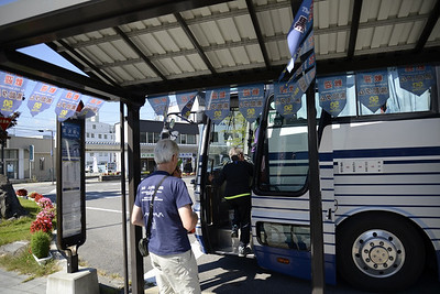 The bus to Ogisawa on the Alpine Route.