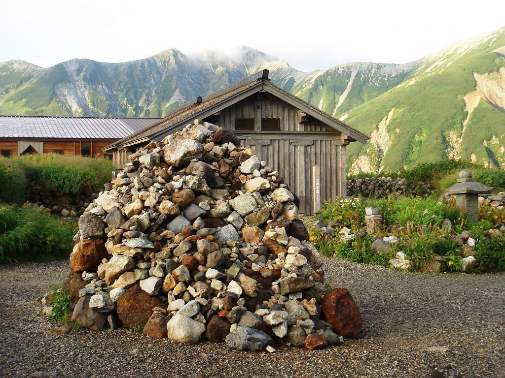 MURODO MOUNTAIN HUT. THE OLDEST IN JAPAN.