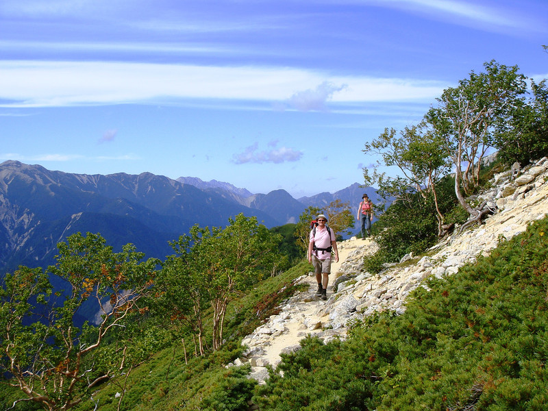SUMMER HIKING IN THE NORTH JAPAN ALPS.