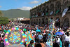 As we prepared to leave Antigua we were delighted to discover a huge crowd in the town square.