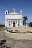 The beautiful Santa Lucia Church was located in the square in Suchitoto.
