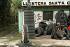 We see many tire shops in the larger cities, mostly with well used tires.