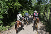 Not far from Copan, we travel by horseback to La Pintada, a small village up the mountain.