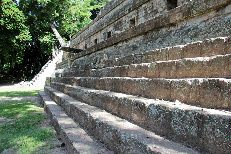 Steps on the Temple of the Inscriptions.