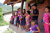 The children patiently wait for a chance to sell us corn husk dolls. Later they sang the Honduras National Anthem for us in Choti, a Mayan language that has been in use for 1000 years.