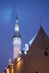Tallinn Old Town at Night 20