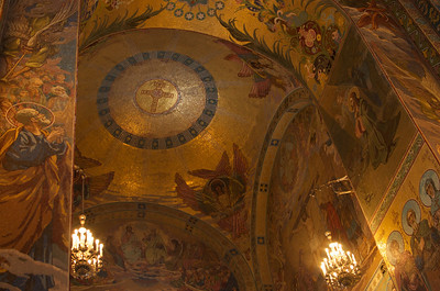 Saint Petersburg - Church of Spilled Blood Interior 10