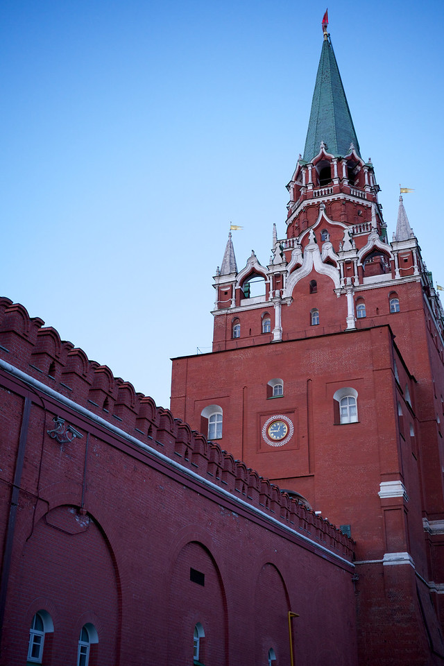 Kremlin and Red Square at Dusk 8
