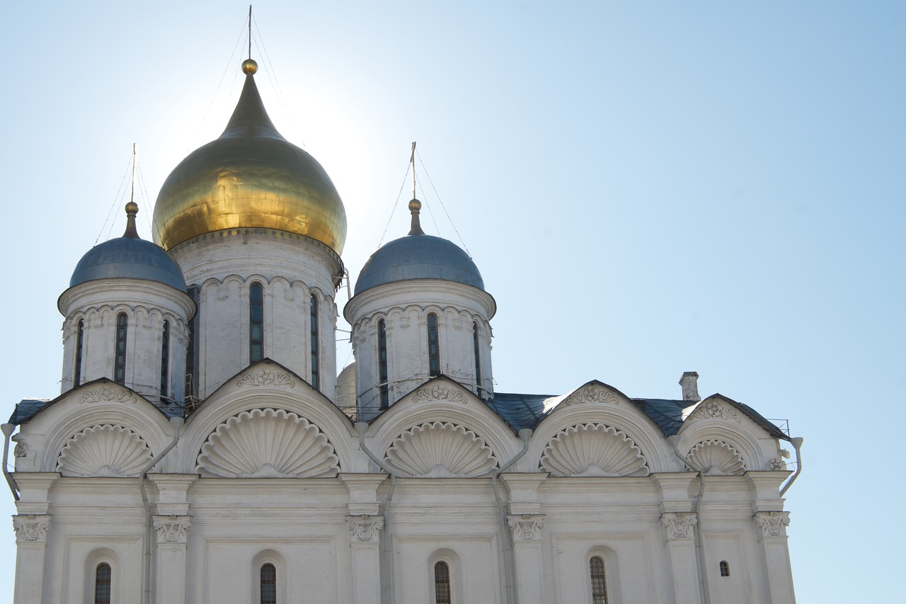 Moscow Kremlin - Archangel Cathedral 3
