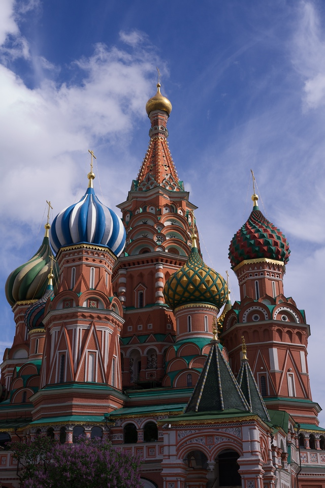 Moscow - St. Basil's in Spring 4