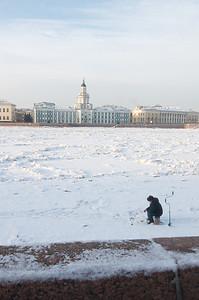 Saint Petersburg - Frozen Bolshaya Neva 5