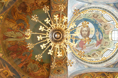 Saint Petersburg - Church of Spilled Blood Interior 28