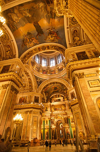 Saint Petersburg - St. Isaac's Cathedral Interior 1