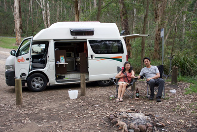 Our camper van in Australia