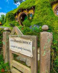 The most famous Hobbit hole in the world