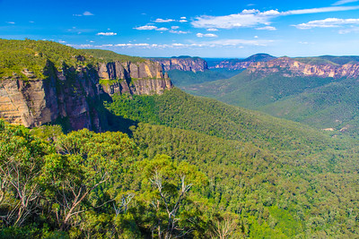 View of the Blue Mountains