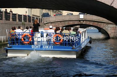 Low bridge...St. Petersburg canal.