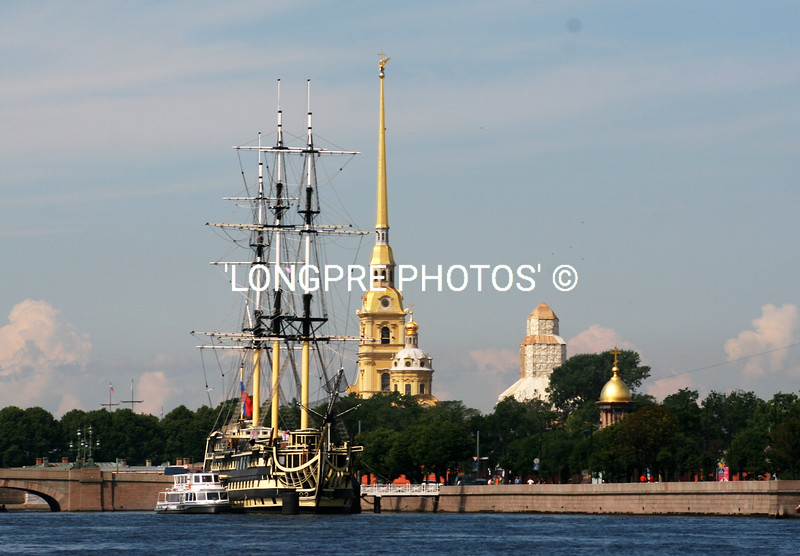 PETER and PAUL'S FORTRESS....St. Petersburg.