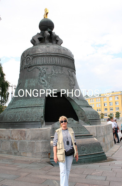 Huge BELL at Kremlin ...large piece cut out of bell.  ????