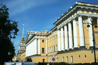 PETER and PAUL'S FORTRESS buildings.