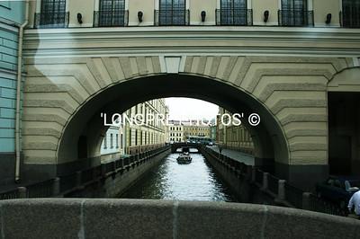 Wonderful CANALS through st. Petersburg.