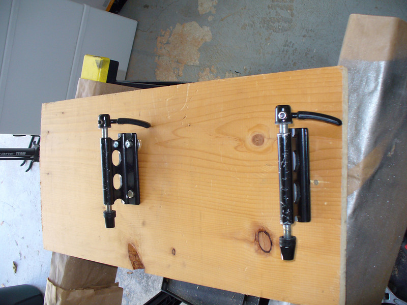 brackets to hold front forks secure