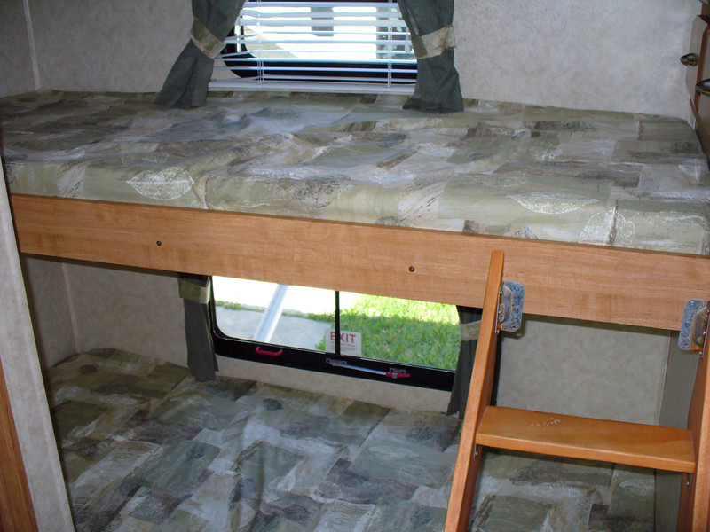 Bunks will be removed to make room for computer.