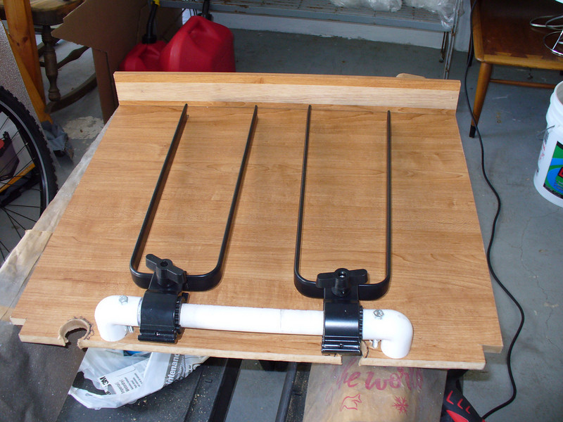 brackets to hold front wheels