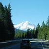 Day 1: A view of Mount Shasta from I-5, on the way to Medford, Oregon.